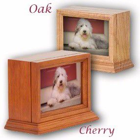 The Bella Series Wooden Pet Urn