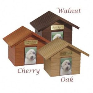 The Cottage Series Wooden Pet Urn