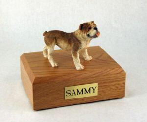 american bulldog pet urn